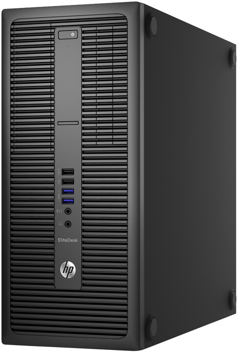 HP EliteDesk 800 G2 TWR, černá