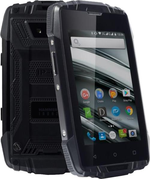 myPhone HAMMER IRON 2, černá