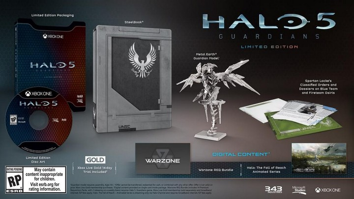 Halo 5: Guardians - Limited edition - XONE