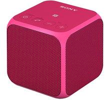 Sony SRS-X11, růžová - SRSX11P.CE7 + Sluchátka SONY MDR-EX15LPB, černá