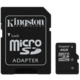 Kingston Micro SDHC 4GB Class 4 + SD adaptér