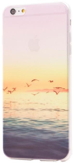 EPICO pružný plastový kryt pro iPhone 6/6S Plus SEAGULS