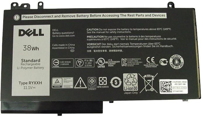 Dell baterie/ 3-článková/ 38 Wh/ pro Latitude 3100/ 3150/ 3160/ E5250/ E5450/ E5550