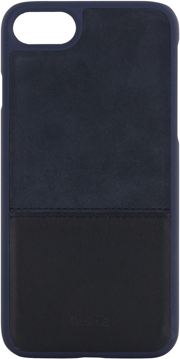 Holdit Case Apple iPhone 6s,7,8 - Blue Leather/Suede