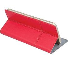 """Forever knížkové pouzdro (smartcase) typ a fold univerzální 5,5-5,7"""" - červené - LCSSMUN-A57RE"""
