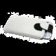 RedPoint Soft Slim pouzdro se zavíráním, PU kůže, velikost 6XL, bílá