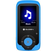 GoGEN MAXI MP3, 4GB, modrá - GOGMAXIMP3B