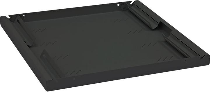 """Triton police A4 s perforací RAB-UP-550-A4, 19"""", 1U/550mm, nostnost 80Kg, černá"""