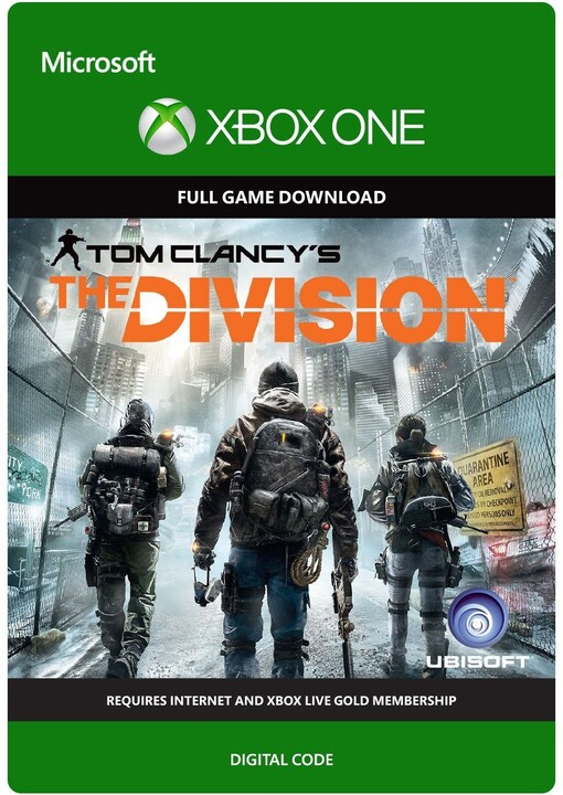 Tom Clancy's The Division (Xbox ONE) - elektronicky