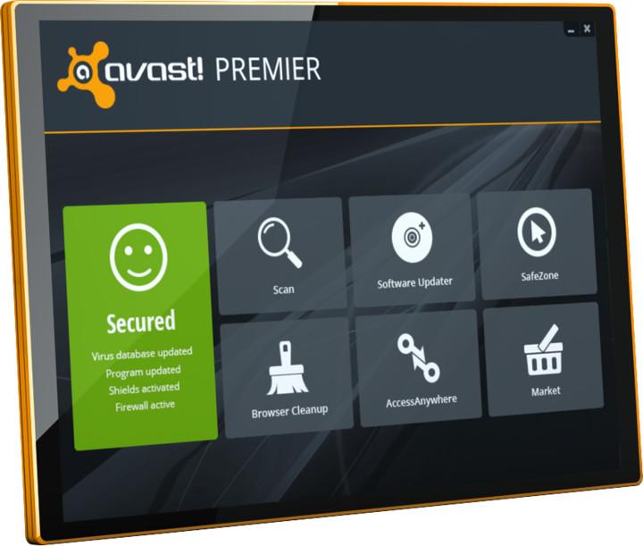Avast! Premier, 5 uživatelů (36 měs.) prodloužení