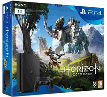 PlayStation 4 Slim, 1TB, černá + Horizon Zero Dawn - PS719837961