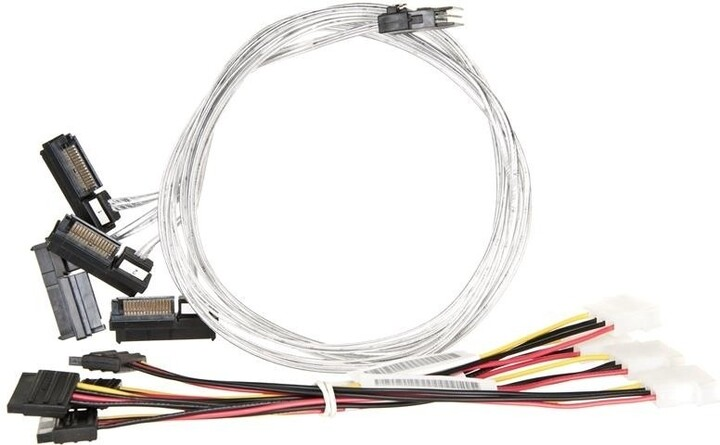 ADAPTEC kabel ACK-I-mSASx4-SAS4x1-FO-1M