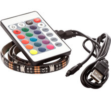 OPTY USB LED pás 50cm, RGB, dálkový ovladač - OPTY 50SR
