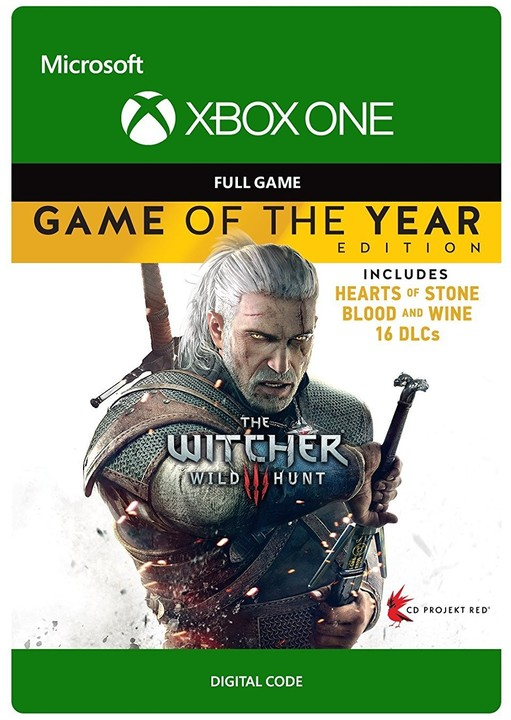 The Witcher 3: Wild Hunt - Game of the Year (Xbox ONE) - elektronicky