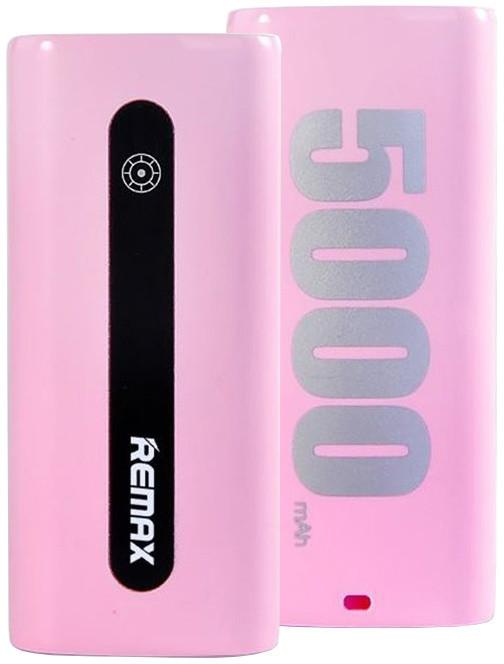 Remax Proda E5, 5000 mAh, růžová