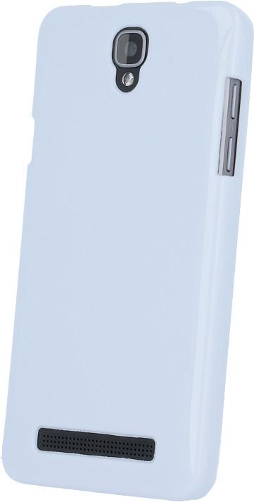 myPhone silikonové pouzdro pro PRIME PLUS, bílá