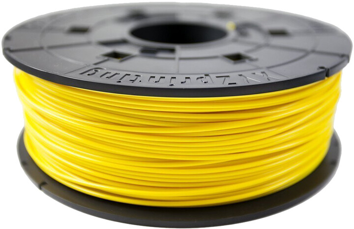 XYZprinting Filament PLA(NFC) Clear Yellow 600g (Junior)