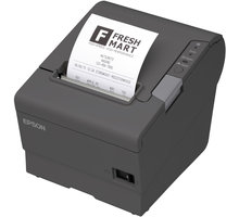 Epson TM-T88V, pokladní tiskárna, BT, iOS, tmavá - C31CA85953