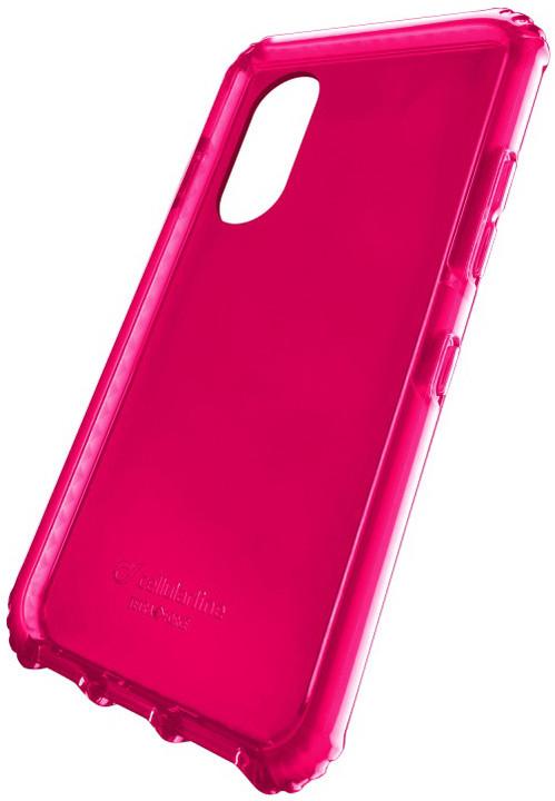 CellularLine TETRA FORCE CASE ultra ochranné pouzdro pro Apple iPhone X, 2 stupně ochrany, fuchsiové