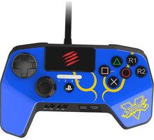 Mad Catz Street Fighter V FightPad PRO V2, modrý (PS4,PS3) - SFV89252BSA4/04/1