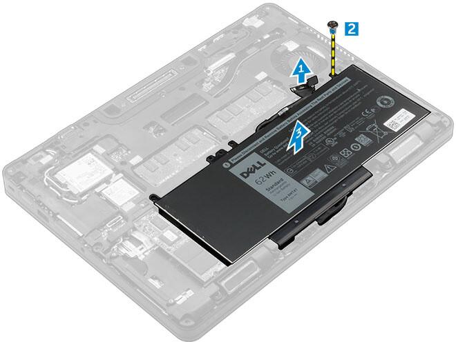 Dell baterie, 3-cell, 47Wh LI-ON pro Latitude E5270
