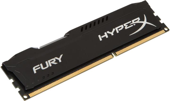 Kingston HyperX Fury Black 8GB DDR3 1600