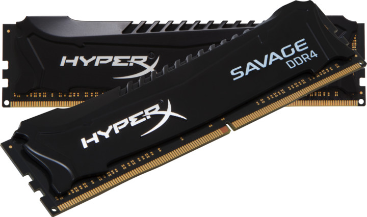 Kingston HyperX Savage Black 8GB (2x4GB) DDR4