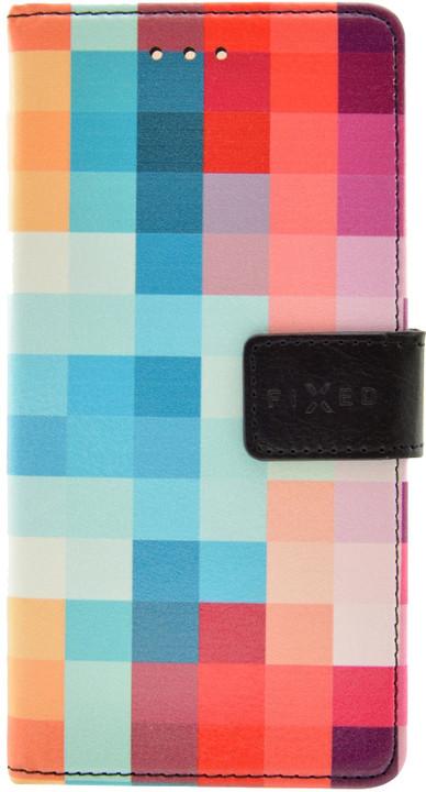 FIXED Opus pouzdro typu kniha pro Nokia 3, motiv Dice
