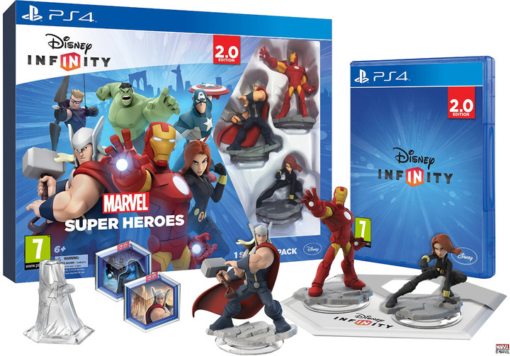 Disney Infinity 2.0: Marvel Super Heroes: Starter Pack - PS4