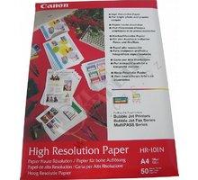 Canon Foto papír High Resolution HR-101N, A4, 50 ks, 106g/m2, matný - 1033A002