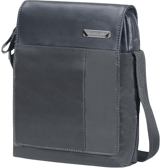 "Samsonite Hip-Tech - CROSSOVER 7"" + FLAP, šedá"