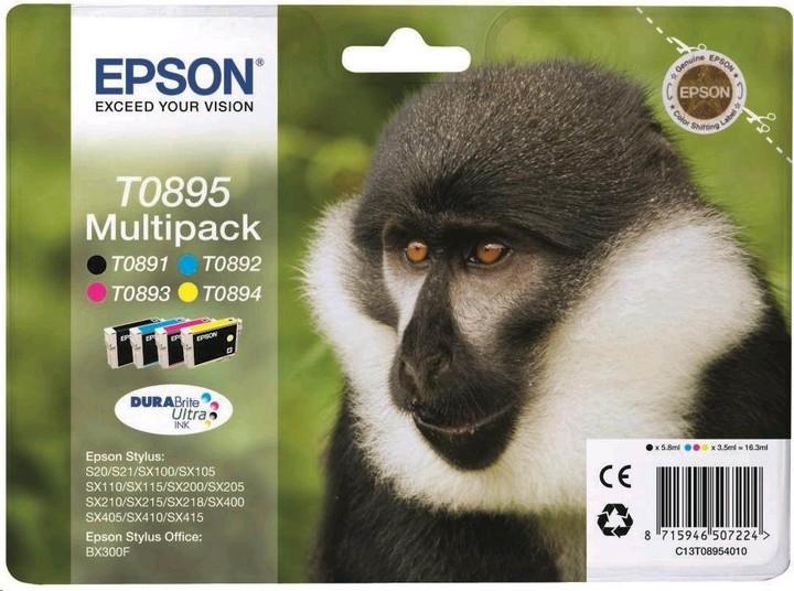 Epson C13T08954010, CMYK Multipack
