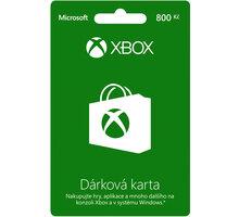 Microsoft Xbox Live dárková karta 800 Kč - K4W-03077