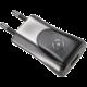 CELLY domácí nabíječka s USB výstupem, 1A, černá, blister