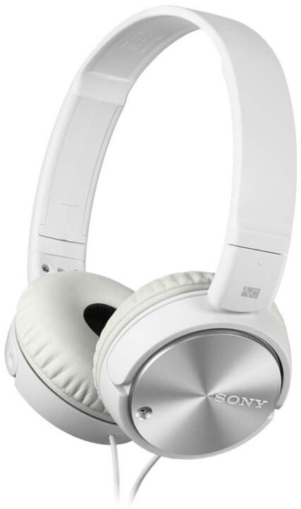 Sony MDR-ZX110NA, bílá