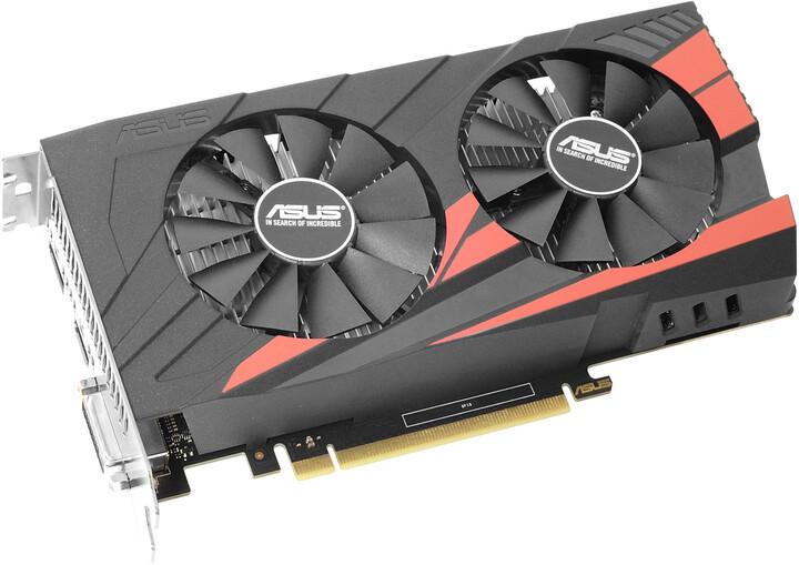 ASUS GeForce GTX 1050 EX-GTX1050-O2G, 2GB GDDR5