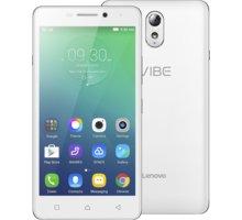 Lenovo Vibe P1m, LTE, bílá - PA1G0055CZ + Zdarma SIM karta Relax Mobil s kreditem 250 Kč
