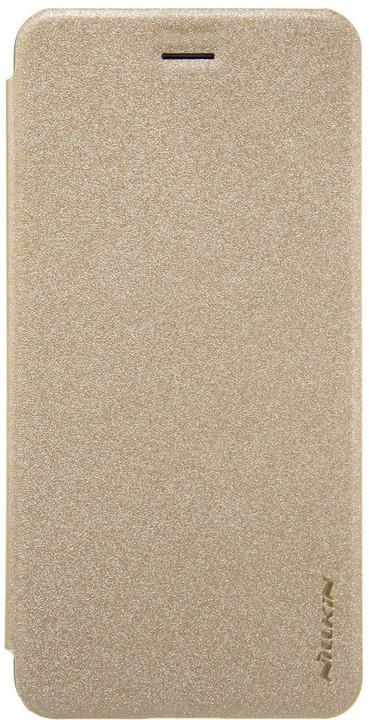 Nillkin Sparkle Folio Pouzdro pro Honor 9, Gold