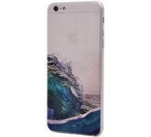 EPICO pružný plastový kryt pro iPhone 6/6S Plus WAVES - 4510102500047 + EPICO Nabíjecí/Datový Micro USB kabel EPICO SENSE CABLE