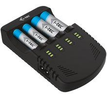 i-Tec nabíječka AA/AAA/9V baterií se 4 nezávislými nabíjecími kanály - BACHR03