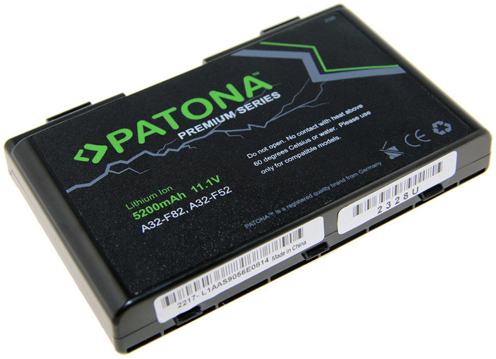 Patona baterie pro ASUS K50ij 5200mAh Li-Ion 11,1V PREMIUM