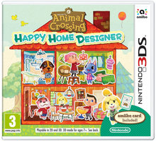 Animal Crossing: Happy Home Designer + karta Amiibo (3DS) - 045496528140