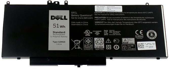 Dell baterie/ 4-článková/ 51 Wh/ pro Latitude 3550/ E5250/ E5450/ E5550