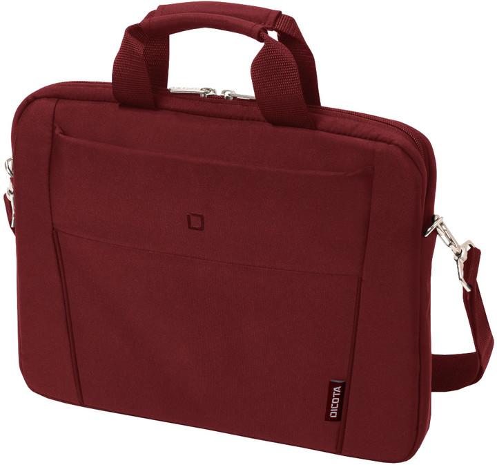 """DICOTA Slim Case BASE - Brašna na notebook 12.5"""" - červená"""