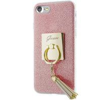 Guess Ring TPU Pouzdro Pink pro iPhone 7 - GUHCP7RSRG