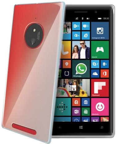 CELLY Gelskin pouzdro pro Nokia Lumia 830, čirá