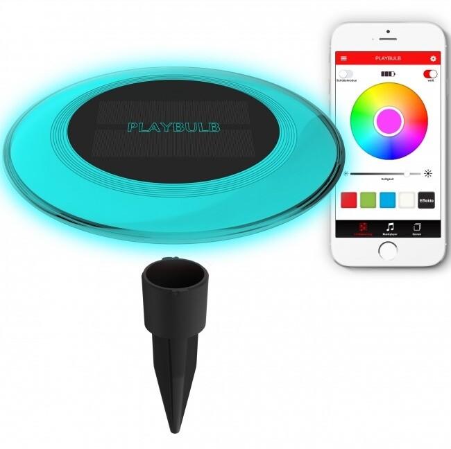 MiPow Playbulb™ Solar chytré zahradní a bazénové LED osvětlení