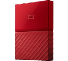 WD My Passport - 1TB, červená - WDBYNN0010BRD-WESN