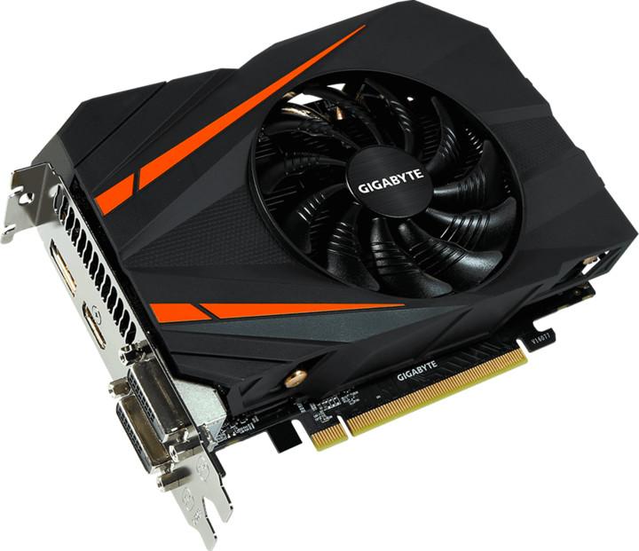 GIGABYTE GeForce GTX 1060 OC, 6GB GDDR5 (mini ITX)
