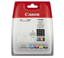 Canon CLI-551 C/M/Y/BK Multi Pack - 6509B008/6509B009
